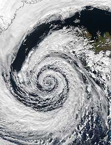 Ураганът Isabel
